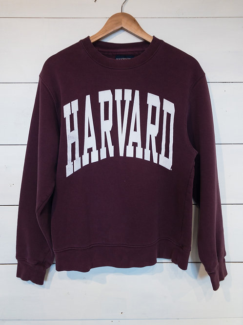 Burgundy Harvard Sweatshirt