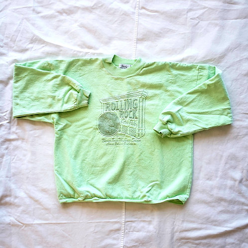 80's Rolling Rock Cropped Canvas shirt