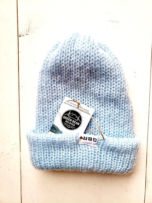 Green Bean Reloved Upcycled Toque Baby Blue