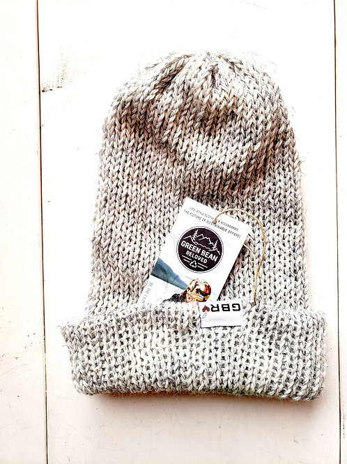 Green Bean Reloved Upcycled Toque Light Gray