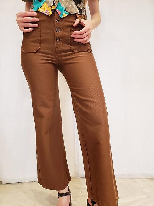 1960's Bobbie Brooks Nut Brown Jeans