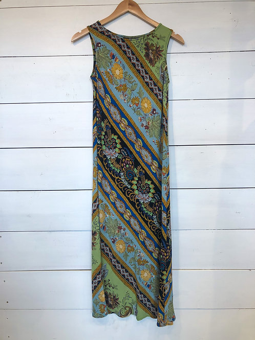 Carole Little Print Bias Dress