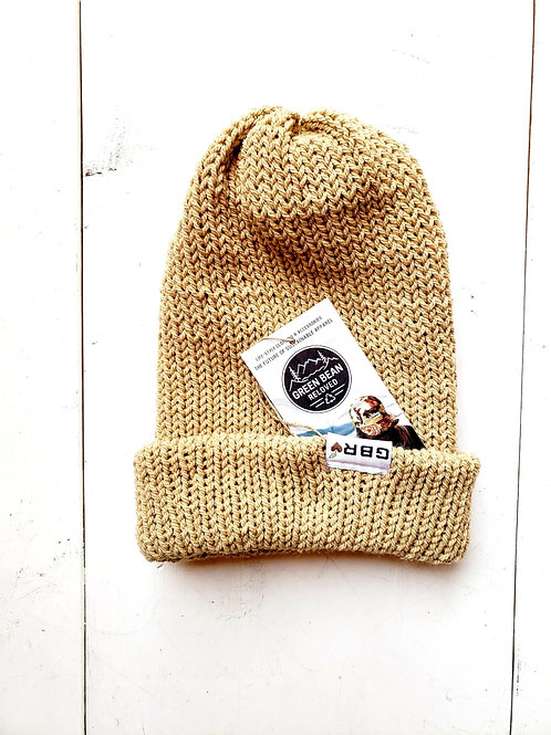 Green Bean Reloved Upcycled Toque Caramel