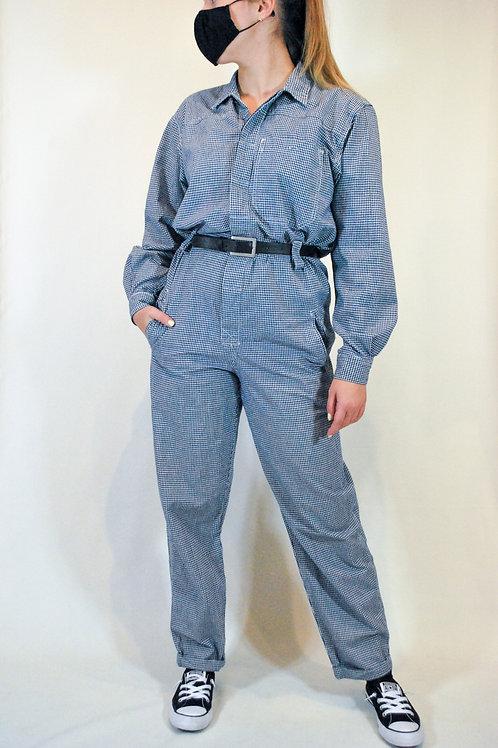Vintage Liz Claiborne Gingham Jumpsuit