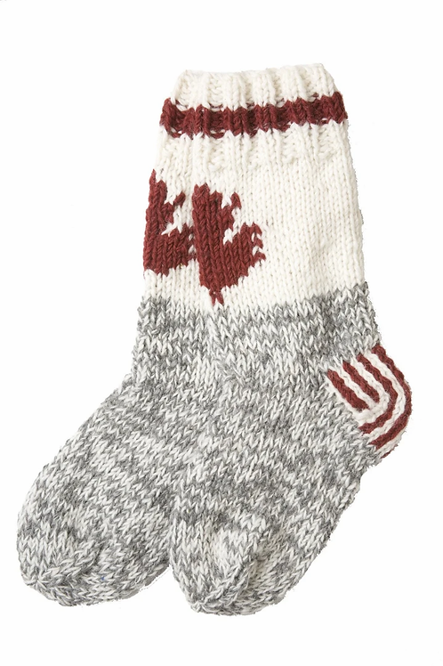 Canadiana Cabin Wool Socks