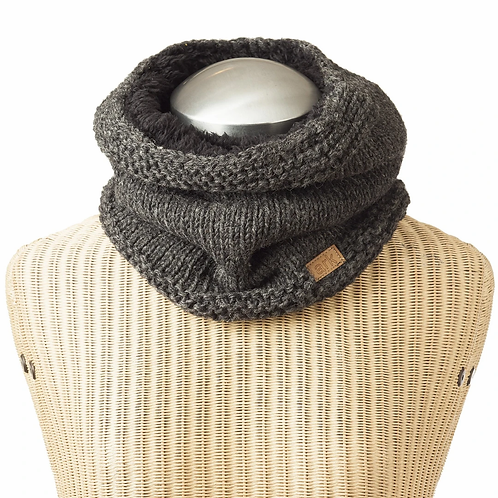 Aspen Wool Fleece Lined Neck Warmer