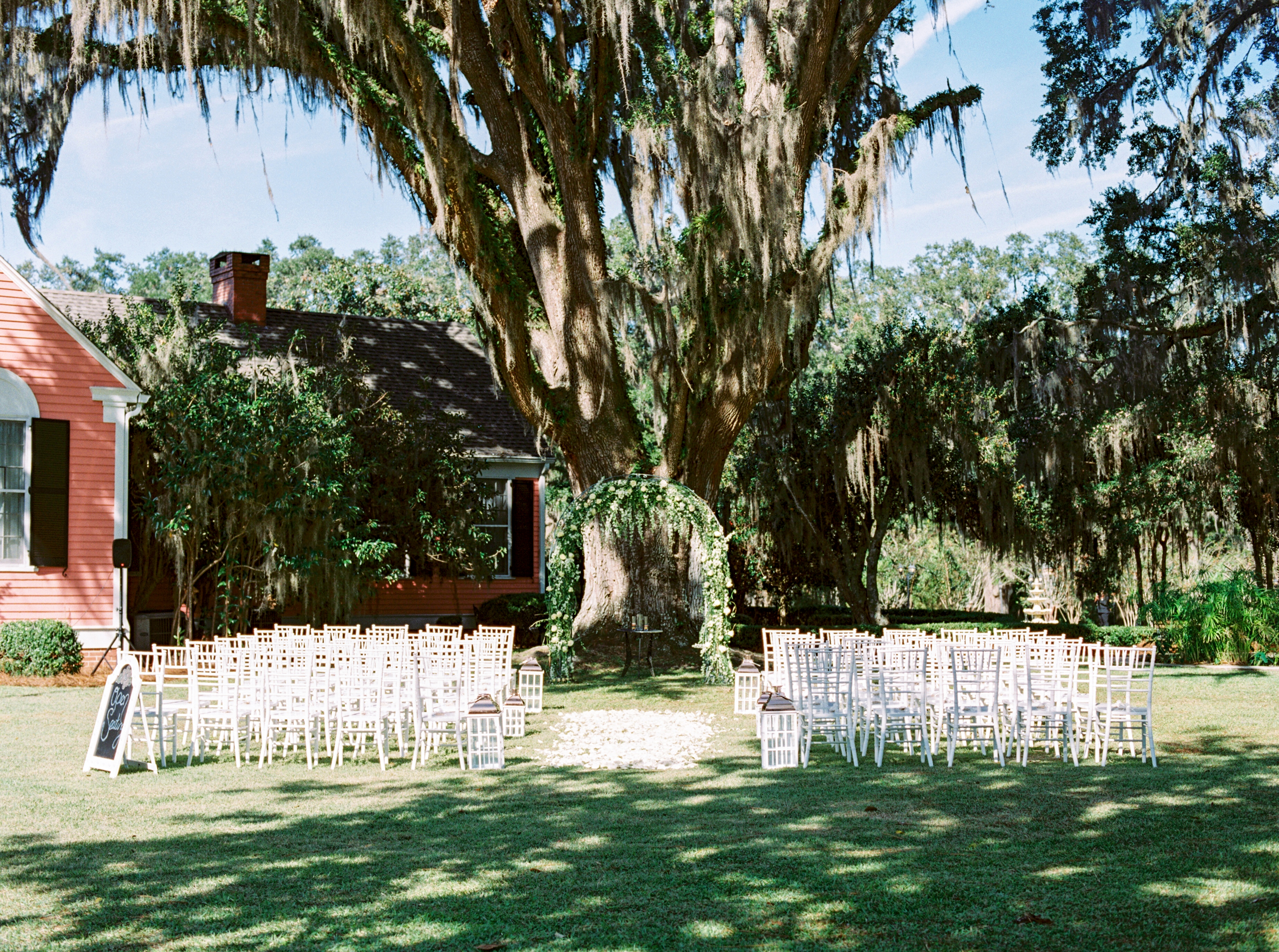 Magnolia Field Ceremony