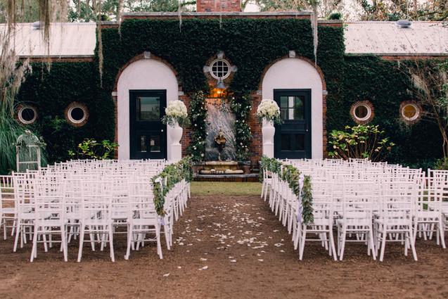 South Eden Plantation - Poolhouse Wedding