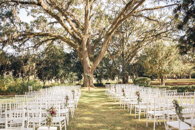 South Eden Plantation - Wedding Under the Oaks