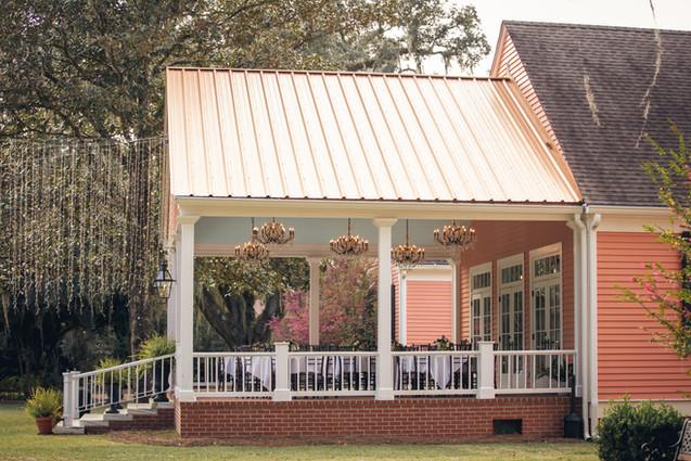 South Eden Plantation - Main House Back Porch