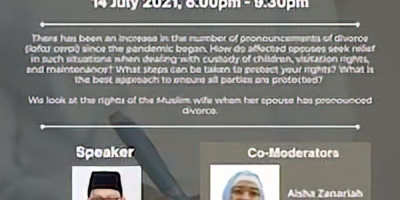 Pronouncements of Divorce in Shariah Law