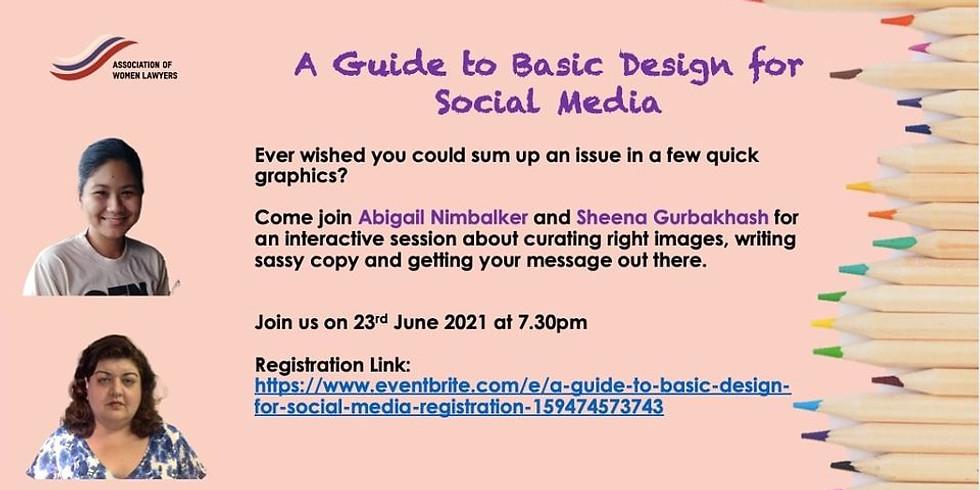 The Guide to Basic Design for Social Media