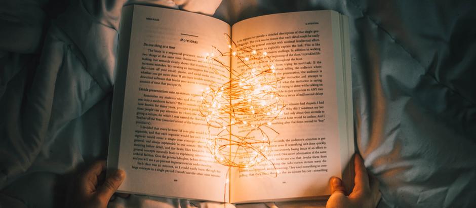 """Words were originally magic"""