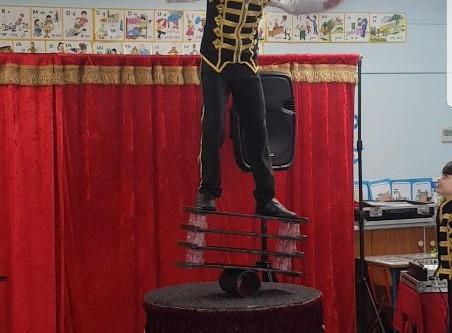 The circus visits Burrane NS🤡