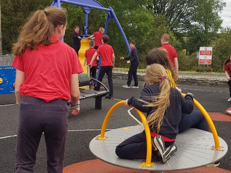 Great fun competing in the Ennis swimming gala. After we got ice-cream and stopped at the playground