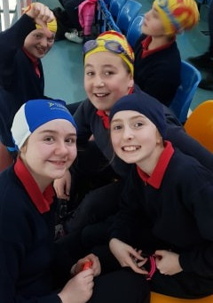 Another exciting week at swimming. We had lots of fun and are improving every week!