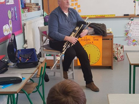 Thanks to musician Sean Talty for visiting us on Monday 🎵🎶