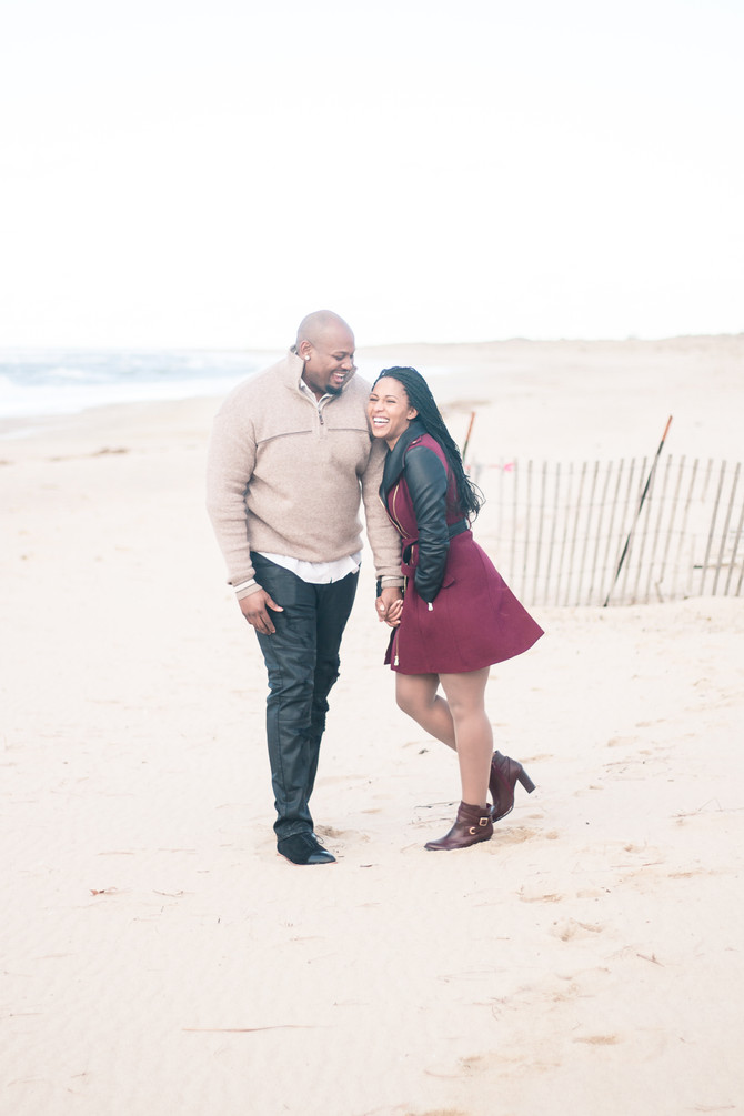 Parker Save-the-Date Session - First Landing Park - Virginia Beach