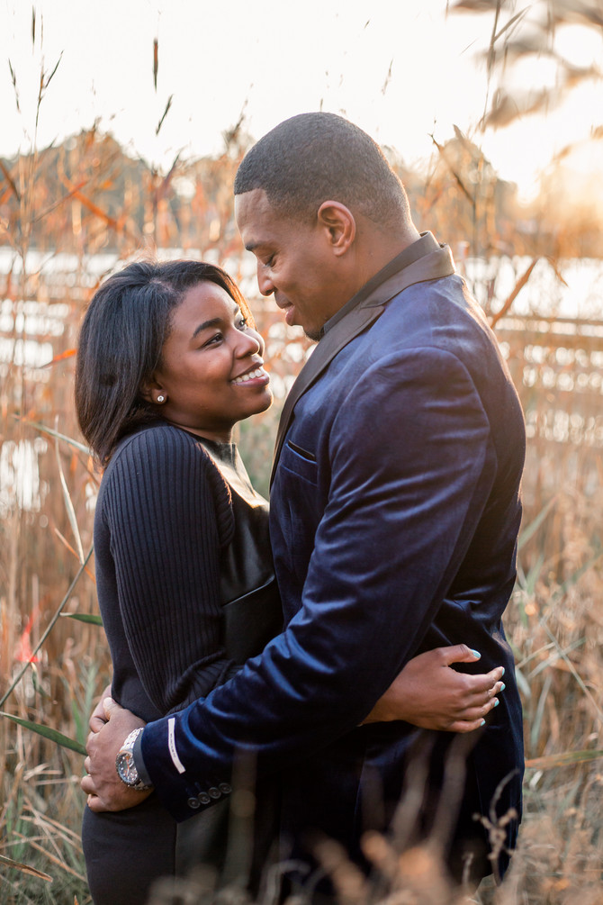Dora and Kord - Virginia Engagement Session - Portsmouth City Park