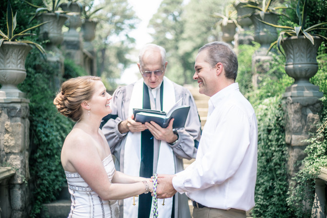 Susan and Topher's Wedding - Norfolk Botanical Gardens - Norfolk, Virginia