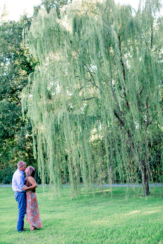 Virginia Engagement Session, Waverly Estate Engagement Session, Willow Tree Engagement Session