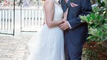 Bianca and Connor's Wedding - Isaac Taylor Garden - New Bern, North Carolina