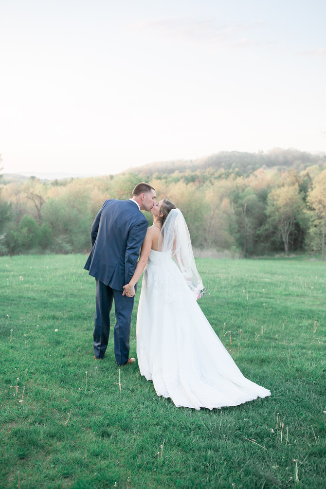 Carly and Ryan's Wedding - Chateau Morrisette Winery - Floyd, Virginia