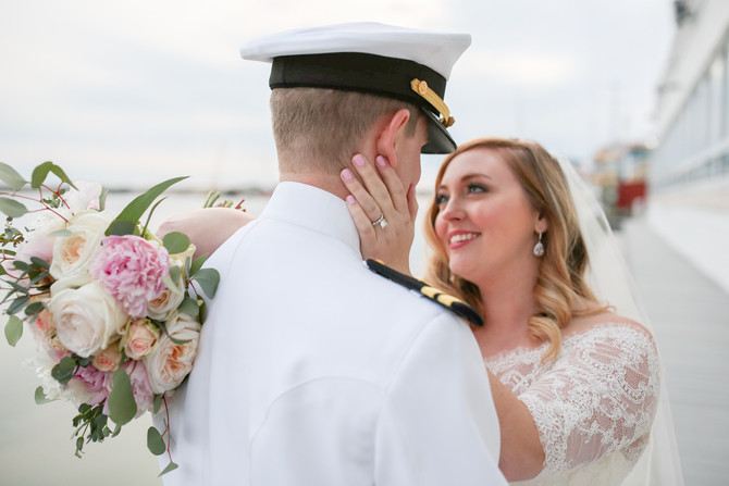 Kayla and Parker's Wedding - Lesner Inn - Virginia Beach, Virginia