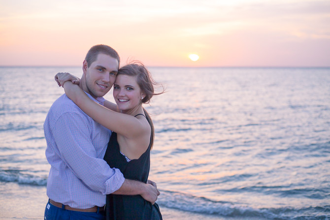 Carly and Ryan - Engagement Session - First Landing Park - Virginia Beach, Virginia