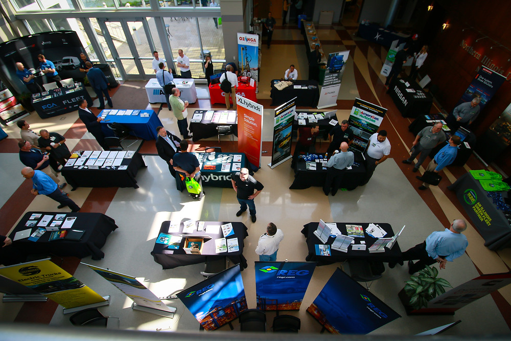 More than 20 exhibitors featured their technologies at the program.