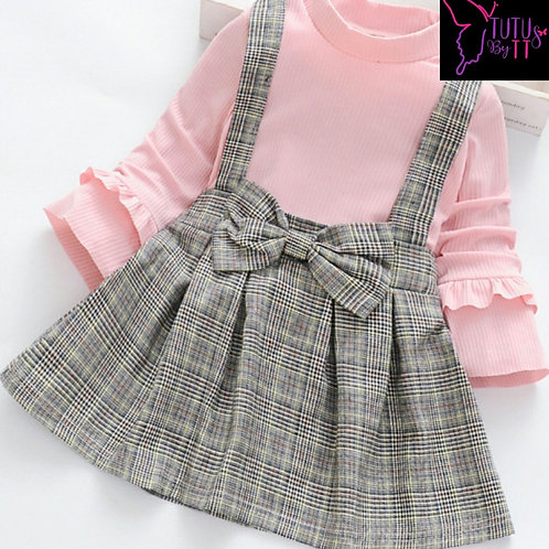 Pretty, Pink and Plaid Dress