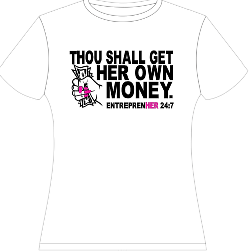 THOU SHALL GET HER OWN MONEY T-SHIRT
