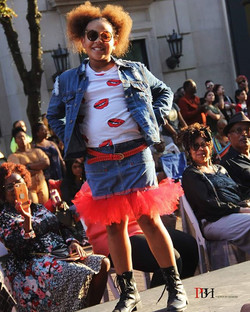 __Denim tutu skirt! She rocked this so p