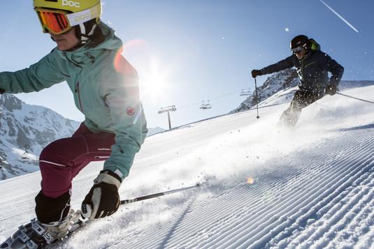 Abfahrt - Skigebiet Bergkastel