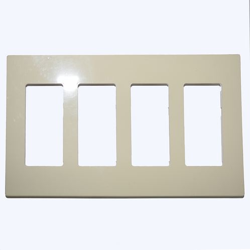 Placa Decora Plus 4 Ventanas Blanca