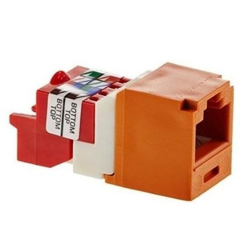 CATEGORY 5E,RJ45 8-POSITION 8-WIRE UNIVERSAL JACK MODULE