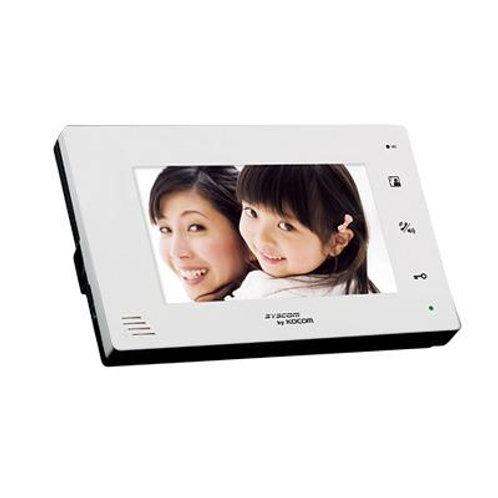 Monitor adicional manos libres con pantalla LCD a color de 7'