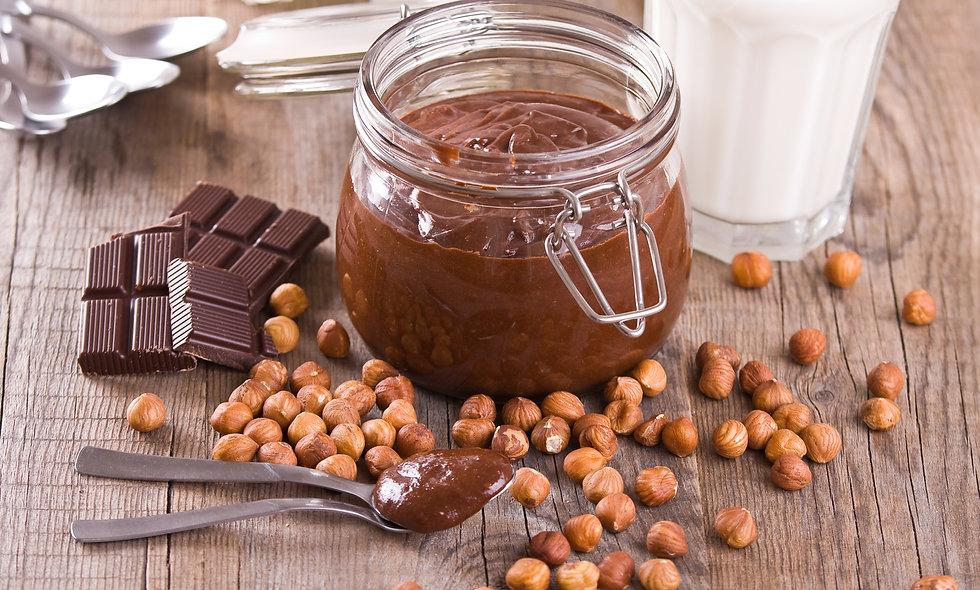Raw Hazelnut Chocolate Cream