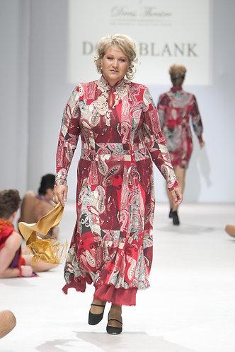 Dress made of woolen knitwear by Etro