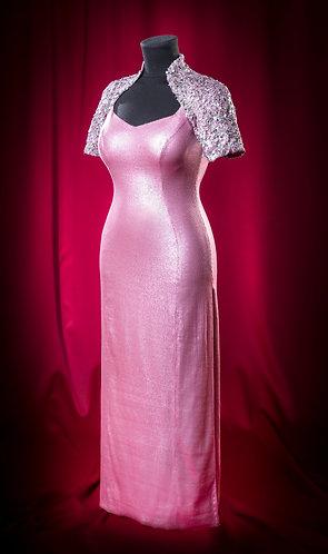Платье из паеток и кружева JoseMaruaRuiz с открытой спиной. DressTheatre Couture