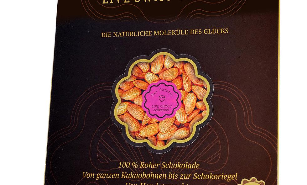 Bio-Schokolade mit ganzen Mandeln