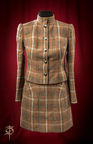 Костюм: юбка и жакет из кашемира DressTheatre Couture by Dora Blank