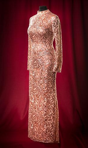 Платье из кружева JoseMariaRuiz длинное.  DressTheatre Couture by Dora Blank