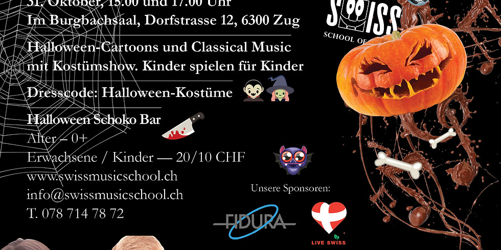Halloween Choco Concert 👻🦹 15.00