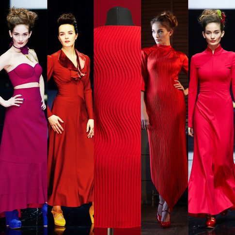 """Red dress: """"The best way to end melancholy..."""""""