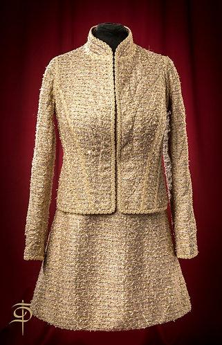 Сет из платья и двусторонней стеганой курточки DressTheatre Couture
