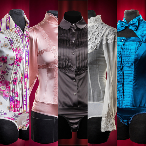 Business in comfort... The blouse-bodysuit as an instrument of achieving comfort.