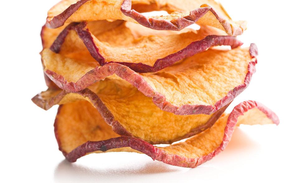 Bio-Getrocknete Äpfel Chips