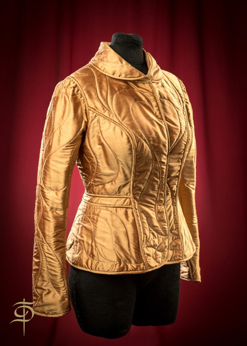 """Gorgeous """"padded jackets"""" Couture   from Dora Blank"""