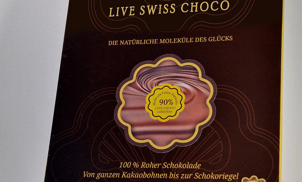 Bio-Schokolade - 90% Kakao
